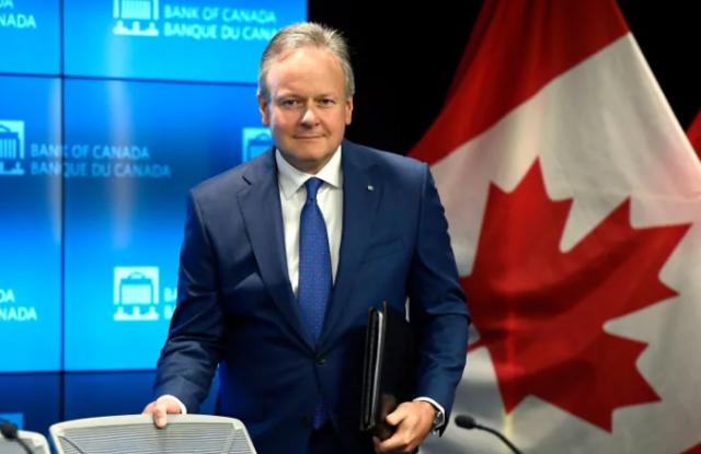 加拿大央行新行长蒂夫·麦克莱姆上任