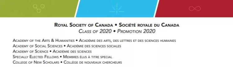 10名华裔精英入选加拿大皇家学会新院士!