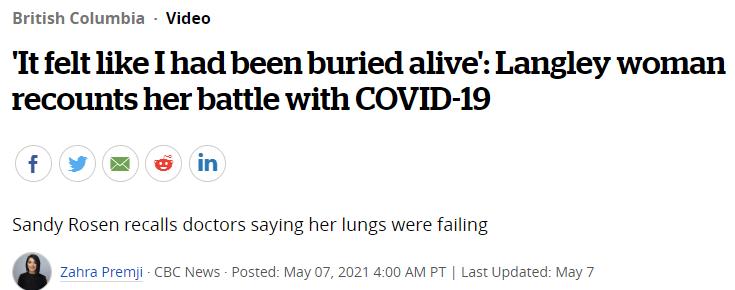 """""""感觉像被活埋了"""",仨孩母亲患新冠,9天后入院肺全白了..."""