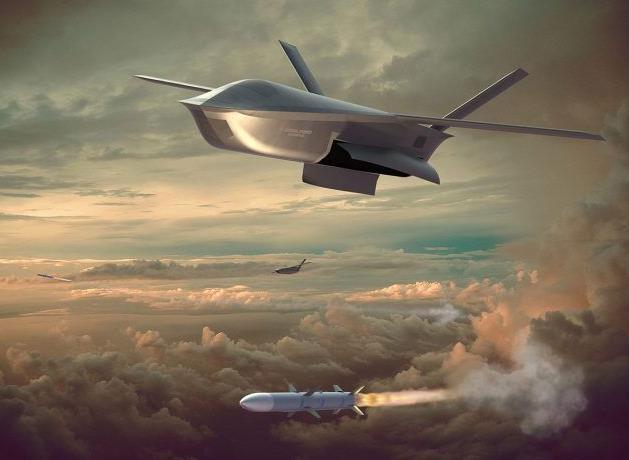 """美国国防高级研究计划局公布Long Shot无人机""""未来空战""""样貌"""