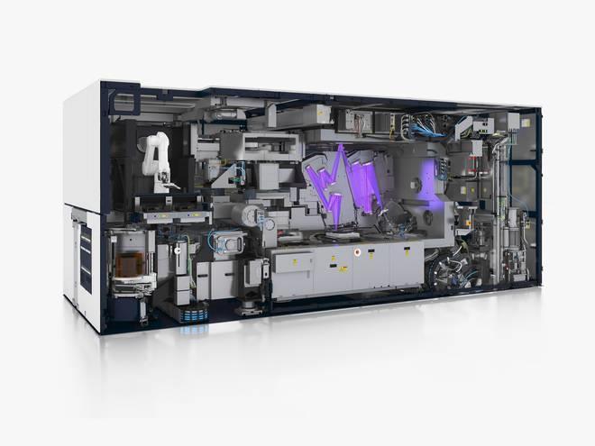 荷兰阿斯麦的新一代EUV光刻机:造价1.5亿美元