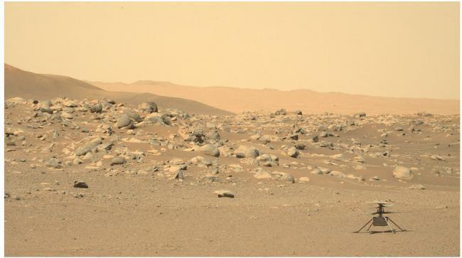 "NASA:火星探测车""毅力号""成功采集到第一块火星岩石样本"