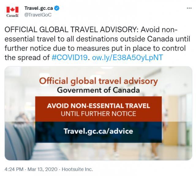 取消旅行警告废疫苗证明 加拿大要彻底解放了?